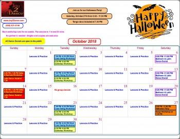 Click To Zoom Calendar
